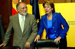La ministra de Fomento, Magdalena Álvarez