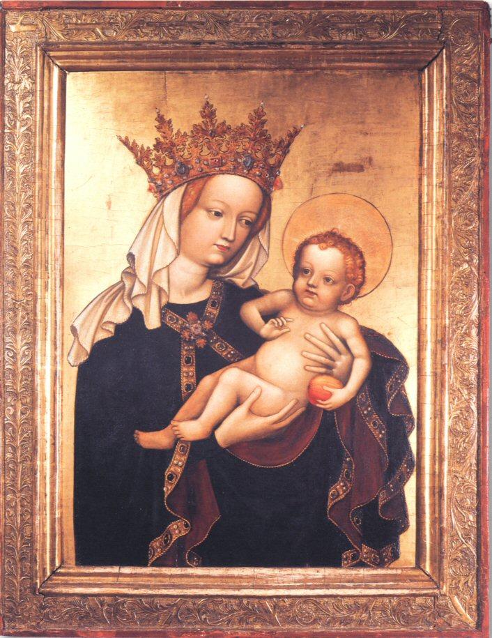 """Virgen con el Niño, llamada """"de la Victoria"""""""