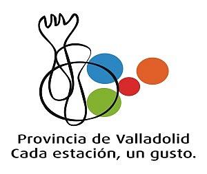 LOGOTIPO DE LA NUEVA  ACCIÓN GASTRONÓMICA DE LA DIPUTACIÓN DE VALLADOLID 'Provincia de Valladolid cada estación, un gusto'