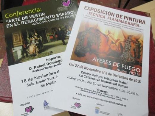 Mujeres en Igualdad organizará en las próximas semanas una conferencia y una exposición