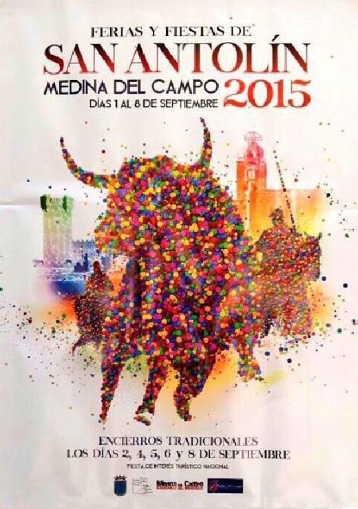 Rubén Lucas, vencedor del concurso del cartel anunciador de las Ferias y Fiestas de San Antolín
