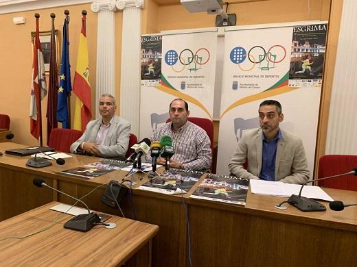 Federación, Ayuntamiento y Club de Esgrima presentan el torneo del fin de semana / Cadena SER