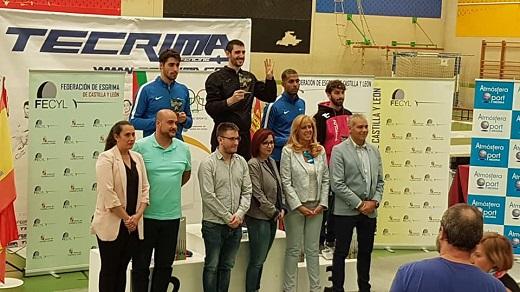 Campeonato de Esgrima. Entrega de Premios.