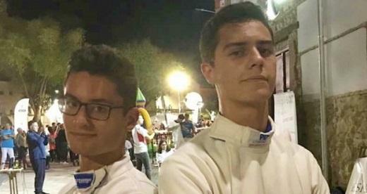 Javier Moreno marca un hito en la esgrima de Albacete